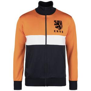 Niederlande 1983 Retro Jacke Herren, orange / dunkelblau, zoom bei OUTFITTER Online
