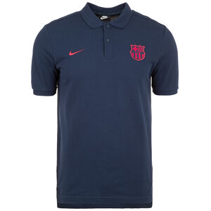 FC Barcelona Poloshirt Herren, blau / rot, zoom bei OUTFITTER Online