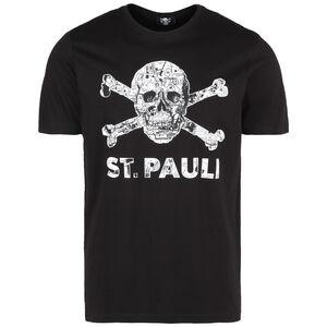 Totenkopf Stadtplan T-Shirt Herren, schwarz / weiß, zoom bei OUTFITTER Online