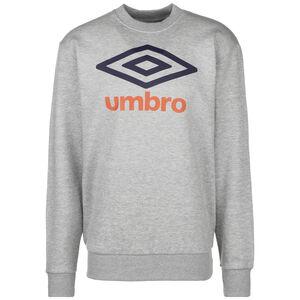 Large Logo Sweatshirt Herren, grau / hellgrün, zoom bei OUTFITTER Online