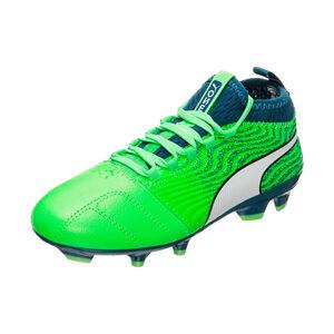 Puma ONE 18.3 FG Fußballschuh Kinder, Grün, zoom bei OUTFITTER Online