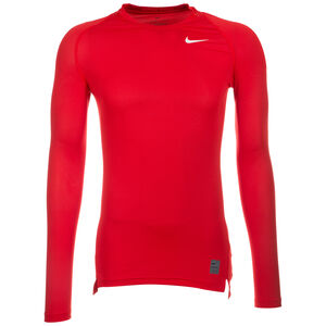 Pro Dry Compression Trainingsshirt Herren, rot / weiß, zoom bei OUTFITTER Online