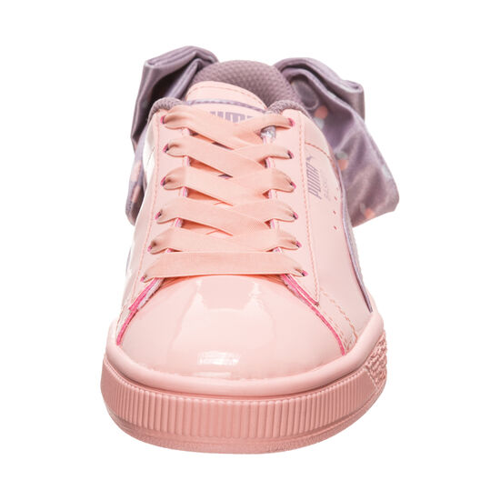 Basket Bow Dots Sneaker Kinder, apricot / bordeaux, zoom bei OUTFITTER Online