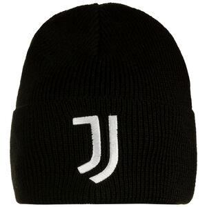 Juventus Turin Beanie, schwarz / weiß, zoom bei OUTFITTER Online