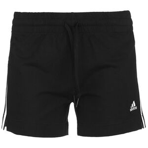 Essentials Linear Trainingsshorts Damen, schwarz / weiß, zoom bei OUTFITTER Online