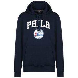 NBA Team Logo Philadelphia 76ers Kapuzenpullover Herren, dunkelblau / weiß, zoom bei OUTFITTER Online