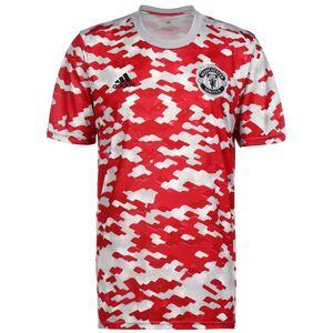 Manchester United Pre-Match Trainingsshirt Herren, rot / weiß, zoom bei OUTFITTER Online