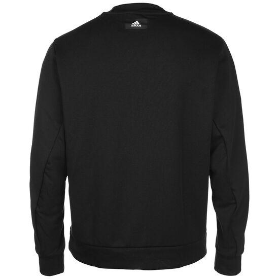 Fabric Block Sweatshirt Herren, schwarz / weiß, zoom bei OUTFITTER Online