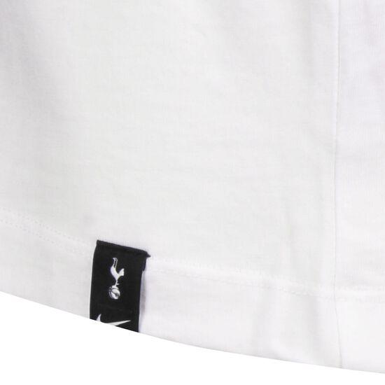 Tottenham Hotspur Crest T-Shirt Herren, weiß / lila, zoom bei OUTFITTER Online
