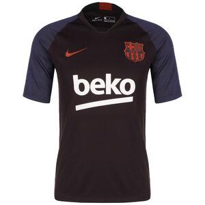 FC Barcelona Breathe Strike Trainingsshirt Herren, weinrot / weiß, zoom bei OUTFITTER Online