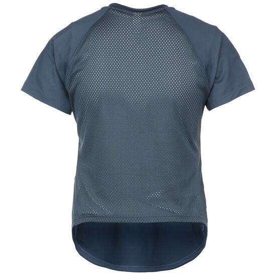 Sport Hi-Lo Trainingsshirt Damen, blau, zoom bei OUTFITTER Online