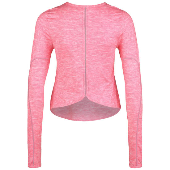Runway Reflective Longlseeve Damen, rosa / silber, zoom bei OUTFITTER Online