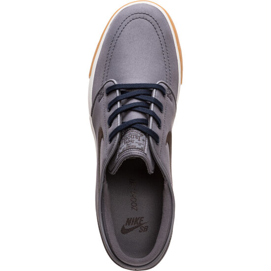 Zoom Stefan Janoski Canvas Sneaker Herren, grau / braun, zoom bei OUTFITTER Online