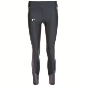 HeatGear Armour Ankle Crop Trainingstight Damen, schwarz / grau, zoom bei OUTFITTER Online