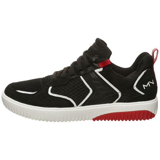 Ridge Rollie Sneaker Herren, schwarz / rot, zoom bei OUTFITTER Online