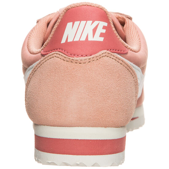 Classic Cortez Nylon Sneaker Damen, altrosa / weiß, zoom bei OUTFITTER Online