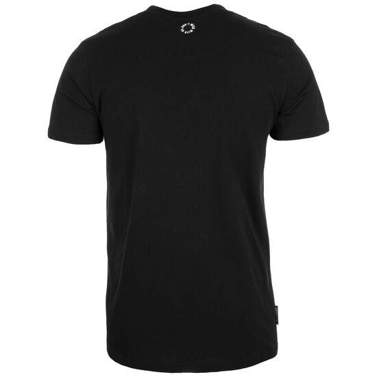 Classic Label '19 T-Shirt Herren, schwarz / weiß, zoom bei OUTFITTER Online
