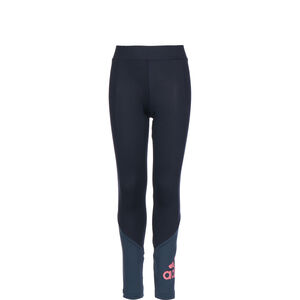 Designed To Move Big Logo Tight Kinder, dunkelblau / rosa, zoom bei OUTFITTER Online