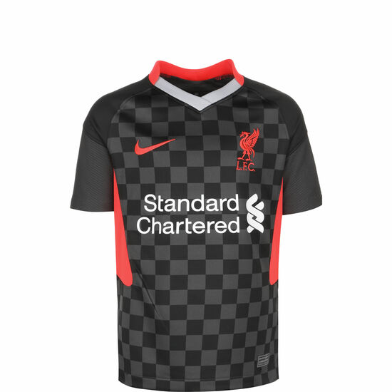 FC Liverpool Trikot 3rd Stadium 2020/2021 Kinder, anthrazit / rot, zoom bei OUTFITTER Online