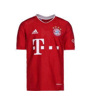 FC Bayern München Trikot Home 2020/2021 Kinder, rot / weiß, zoom bei OUTFITTER Online