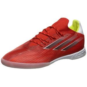 X Speedflow.1 Indoor Fußballschuh Herren, rot / weiß, zoom bei OUTFITTER Online