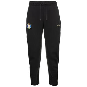 Inter Mailand Tech Fleece Trainingshose Herren, schwarz / gold, zoom bei OUTFITTER Online