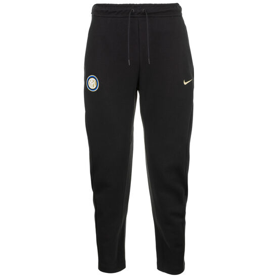 Inter Mailand Tech Fleece Trainingshose Herren, schwarz / gold, zoom bei OUTFITTER Online