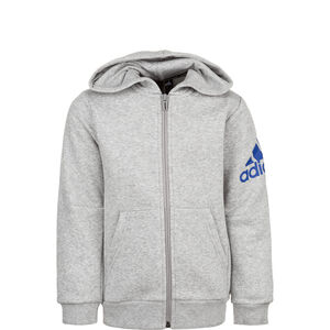 Must Have Badge of Sport Trainingsjacke Kinder, grau / blau, zoom bei OUTFITTER Online