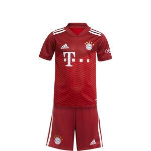 FC Bayern München Minikit Home 2021/2022 Kleinkinder, rot / weiß, zoom bei OUTFITTER Online