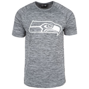 NFL Seattle Seahawks Engineered Raglan T-Shirt Herren, grau, zoom bei OUTFITTER Online