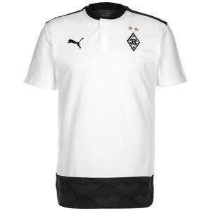 Borussia Mönchengladbach Casuals Poloshirt Herren, weiß / schwarz, zoom bei OUTFITTER Online
