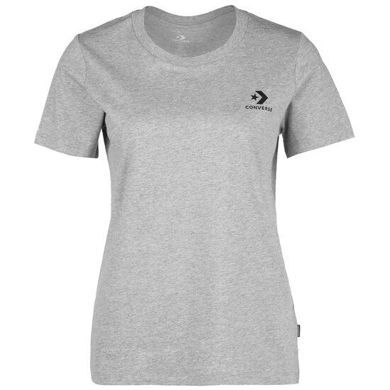 Stacked Logo T-Shirt Damen, hellgrau, zoom bei OUTFITTER Online