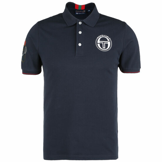Faroe Monte-Carlo Staff Poloshirt Herren, dunkelblau / rot, zoom bei OUTFITTER Online