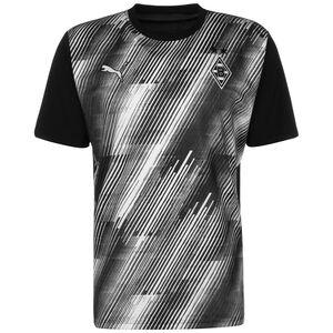 Borussia Mönchengladbach Pre-Match Trikot Herren, schwarz / weiß, zoom bei OUTFITTER Online