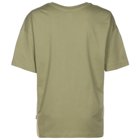 Heart Reverse Print T-Shirt Damen, oliv, zoom bei OUTFITTER Online