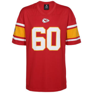 NFL Kansas City Chefs Iconic Franchise Trikot Herren, rot / weiß, zoom bei OUTFITTER Online