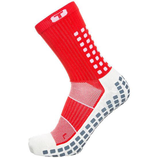 Mid-Calf Thin Socken Herren, Rot, zoom bei OUTFITTER Online