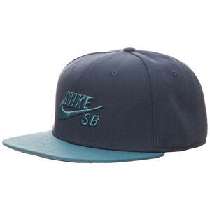 SB Icon Snapback Cap, petrol / blau, zoom bei OUTFITTER Online