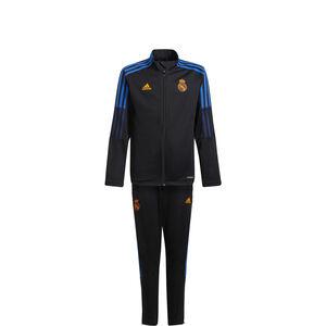Real Madrid Trainingsanzug Kinder, schwarz / blau, zoom bei OUTFITTER Online