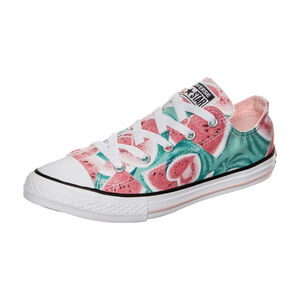 Chuck Taylor All Star Watermelon OX Sneaker Kinder, Türkis, zoom bei OUTFITTER Online