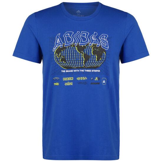 Athletics Pack Worldwide T-Shirt Herren, blau, zoom bei OUTFITTER Online