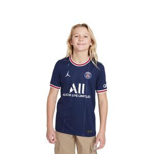 Paris St.-Germain Trikot Home Stadium 2021/2022 Kinder, dunkelblau / rot, zoom bei OUTFITTER Online