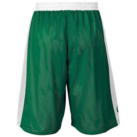 Essential Reversible Basketballshort Herren, grün / weiß, zoom bei OUTFITTER Online