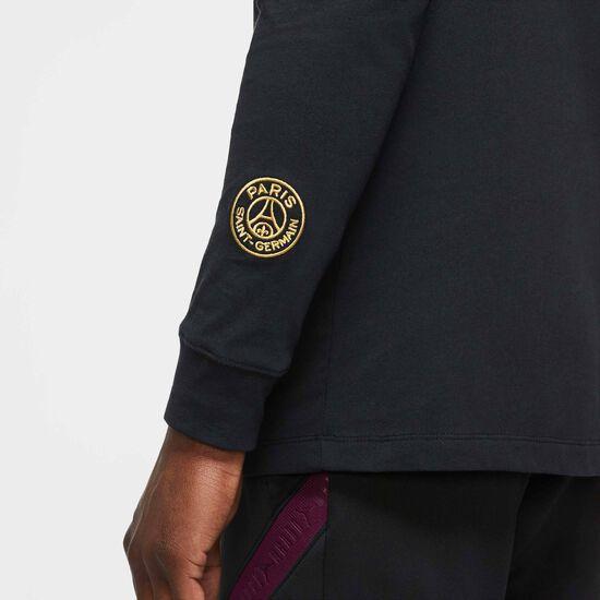 Paris St.-Germain Ignite Longsleeve Herren, schwarz / gold, zoom bei OUTFITTER Online