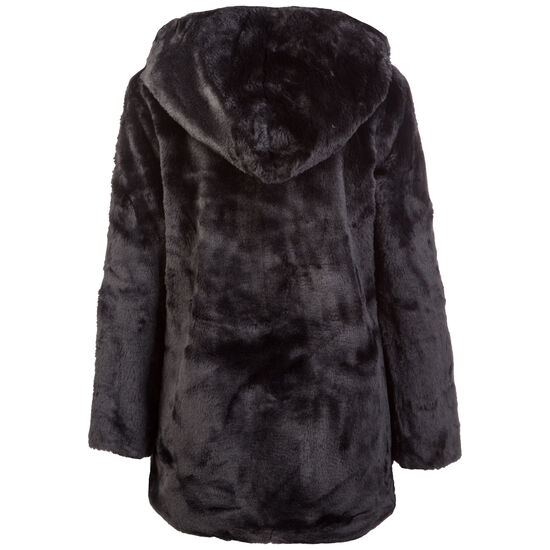 Hooded Teddy Wintermantel Damen, schwarz, zoom bei OUTFITTER Online