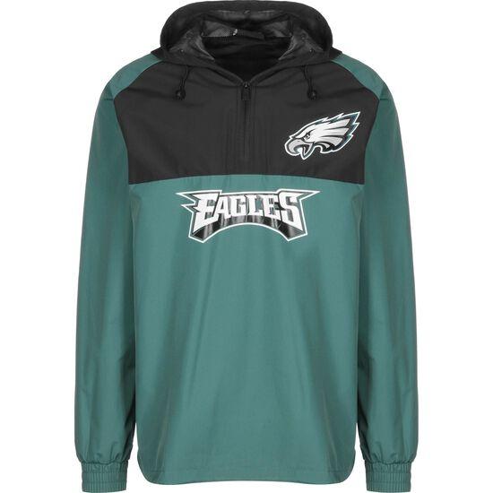 NFL Philadelphia Eagles Windbreaker Herren, grün / schwarz, zoom bei OUTFITTER Online