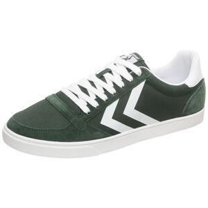 Slimmer Stadil Mono Low Sneaker, dunkelgrün / weiß, zoom bei OUTFITTER Online