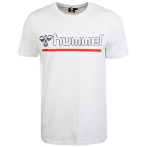 Hml Brick T-Shirt Herren, weiß / blau / rot, zoom bei OUTFITTER Online