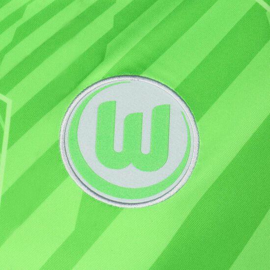 VfL Wolfsburg Trikot Home Stadium 2021/2022 Herren, hellgrün / weiß, zoom bei OUTFITTER Online