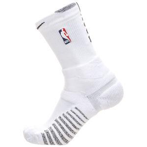 Grip Power Crew NBA Socken, weiß / schwarz, zoom bei OUTFITTER Online